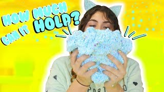 Download HOW MUCH CAN SLIME HOLD PART 2 | Floam, Fishbowl, glitter | Slimeatory #161 Video