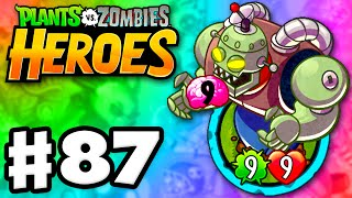 Download Plants vs. Zombies: Heroes - Gameplay Walkthrough Part 87 - Zombot 1000 Legendary! (iOS, Android) Video