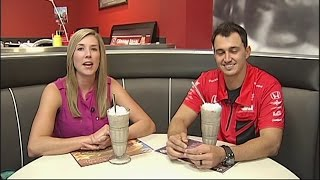 Download Graham Rahal at Steak N' Shake Video