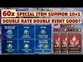 Download King's Raid - 60x Special Item Summon 10+1 Massive Pulls + Double Rate Double Events Video