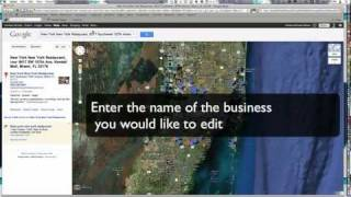Download How to Edit My Business' Google Maps / Places Information Video