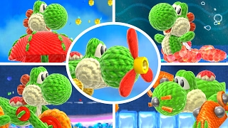 Download Poochy & Yoshi's Woolly World - All Transformations Gameplay Video