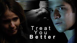 Download scott & malia (+ stiles)   treat you better Video