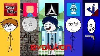 Download Evolution of stickman animations Video