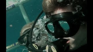 Download Open Water 3 Cage Dive (2017) Exclusive Clip ″Boat Hit By Wave″ HD, Shark Week Video