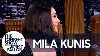 Download Mila Kunis Spent Her Honeymoon in an RV Park with Ashton Kutcher's Parents Video
