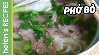 Download PHO BO - Vietnamese Beef Noodle Soup Recipe Video