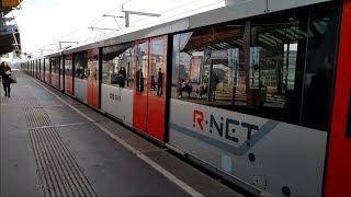 Download GVB R-net Amsterdam M5 Metro met R-net bestickering Video