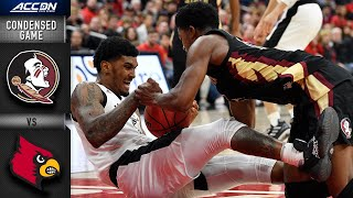 Download Florida State vs. Louisville Cardinals Condensed Game | 2019-20 ACC Men's Basketball Video
