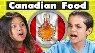 Download KIDS EAT CANADIAN FOOD | Kids Vs. Food Video