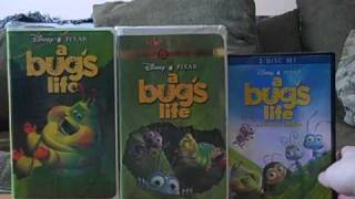 Download 3 Different Versions of A Bug's Life Video