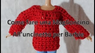 Tutorial N 3 Vestito Da Sposa Per Barbie Alluncinetto Crochet