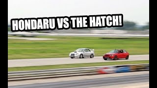 Download The Hatch and Hondaru DOMINATE Roll Racing! Video