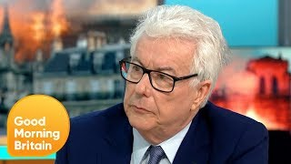 Download Historical Author Ken Follett Comments on the Devastating Notre-Dame Fire | Good Morning Britain Video