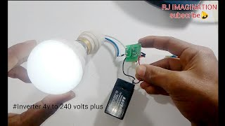 Download Inverter 4v to 240v | transformers less power supply | battery charger from insect killer badminton Video