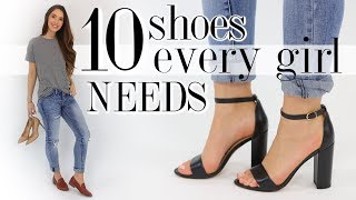 Download 10 SHOES Every Woman Should Own! *essentials you'll love* Video