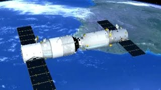 Download China's Cargo Spacecraft Completes First of Three in Orbit Refueling Operations Video