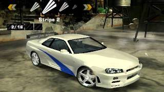 Download Need For Speed Most Wanted Nissan Skyline GT-R Brian Vinyls Video
