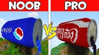 Download Minecraft - NOOB vs PRO : PEPSI vs COCA COLA in Minecraft ! AVM SHORTS Animation Video