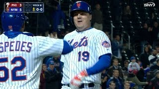 Download 4/19/17: Bruce's two homers pace Mets to 5-4 win Video