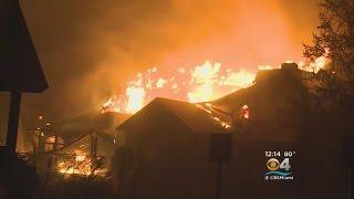 Download Wildfires Destroy Homes In Gatlinburg, Pigeon Forge Video