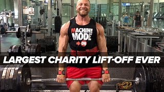 Download Largest Charity Lift-Off Ever - ″Fake Weights″ Brad Castleberry Follow-Up Video