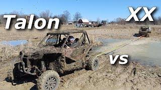 Download Honda Talon 1000R vs Wildcat XX chase, drag, and tug! Video