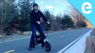 Download The Orca Mark I electric scooter/bike is surprisingly powerful Video
