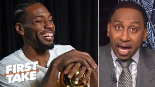 Download 'No chance in hell' Kawhi joins the Sixers even if he meets with them - Stephen A. | First Take Video