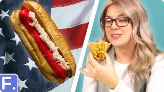 Download Irish People Try American Hot Dogs Video