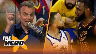 Download Colin Cowherd on the rift between Steph Curry and LeBron, King James' GM1 tantrum | NBA | THE HERD Video