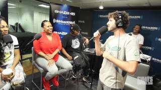 Download Lil Dicky Performs ″Lemme Freak″ in Heather B and Tracy G Lap Live In Studio for Concert Series Video