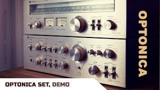 Download SHARP OPTONICA SET Amplifier and Tuner Demo Video