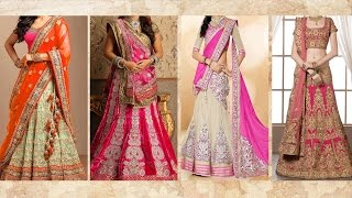 Download 5 Gorgeous Ways To Wear Lehenga Saree & Makeup | How To Wear Lehenga In Different Style to Look Slim Video