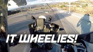 Download THIS BIG BIKE WHEELIES! + GET OFF THE ROAD, BRO! Video