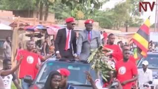 Download Dr Kizza Besigye, Bobi Wine campaign for respective candidates in Arua Video