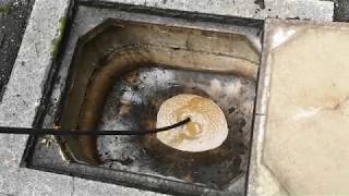 Download JETTING A NASTY BLOCKED DRAIN!! Solid Sewer Blockage!! Video