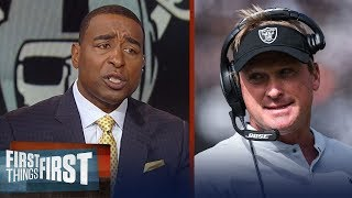 Download Cris Carter explains why the Raiders' players can't trust Jon Gruden | NFL | FIRST THINGS FIRST Video