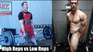 Download HIGH REPS VS LOW REPS: How Important Is Strength For Building Muscle? Video