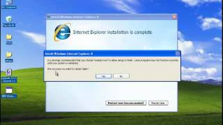 Download How to Upgrade Internet Explorer 6 to IE 8 on a Windows XP Video