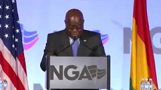 Download President of Ghana Addresses US National Governors Association NGA 2018 as 1st African Leader Video