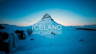 Download Iceland - drone camera action Video