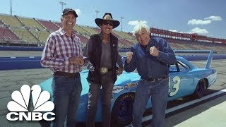 Download Nascar Legends Kyle And Richard Petty Take To The Racetrack | Jay Leno's Garage | CNBC Prime Video