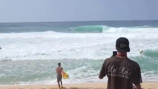 Download Rescue at Pipeline Jamie O'Brien, Guilherme Tamega Video