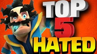Download Top 5 Most Hated Legendary Cards in Clash Royale Video