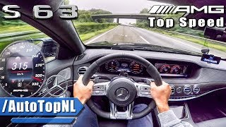 Download Mercedes S63 AMG 2018 ACCELERATION & TOP SPEED AUTOBAHN POV by AutoTopNL Video