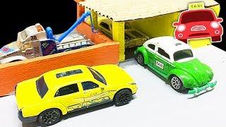Download TAXI ★ POLICIA ★ CARROS NA CIDADE HOT WHEELS Video