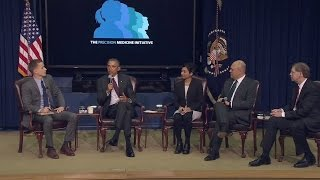 Download The White House Hosts a Precision Medicine Initiative Summit Video