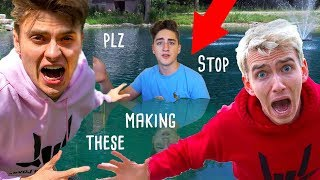 Download This Family Thinks There's A Monster In Their Pond (Sharer Fam Reaction) Video