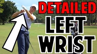 Download The Left Wrist in the Golf Swing | Crazy Detail Video